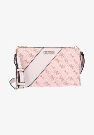 Across body bag - blush multi