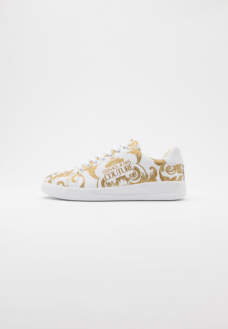 Versace Jeans Couture - Baskets basses - white/gold
