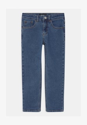 ANDY - Jean droit - dark-blue denim