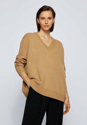 FRYNNIE - Jumper - light brown