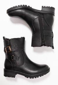 Dorothy Perkins - ALOHA BACK BUCKLE - Classic ankle boots - black - 3