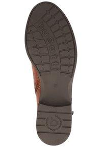 Bugatti - Lace-up ankle boots - cognac 6300 - 4