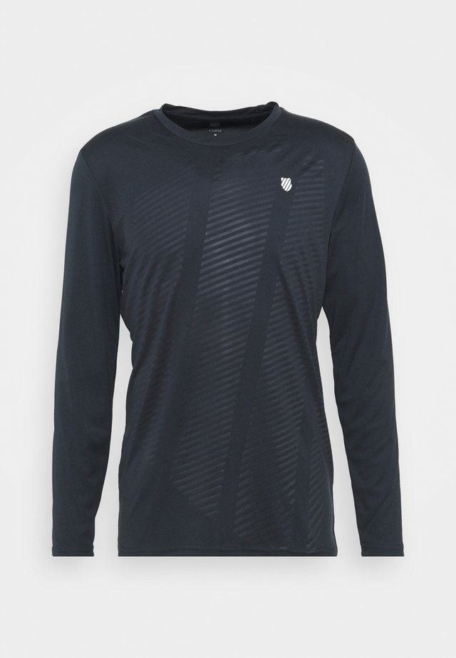 HYPERCOURT LONG SLEEVE - Top s dlouhým rukávem - blue graphite
