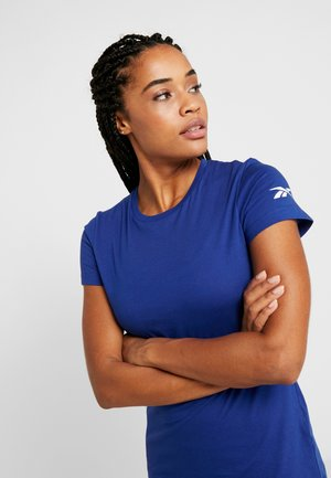 TEE - Basic T-shirt - cobalt