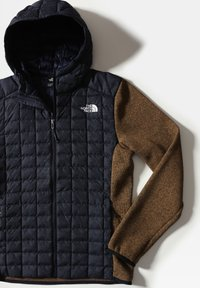 The North Face - M THERMOBALL GORDON LYONS HOODIE - Outdoorjacka - aviator navy/utility brwn - 3