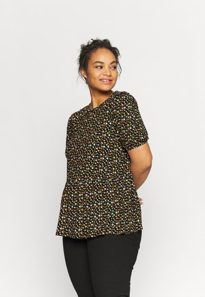 PRINT PEPLUM - Print T-shirt - multi