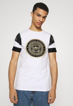 DINOS TEE - Print T-shirt - optic white