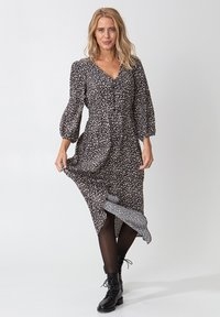 Indiska - ZUDORA - Shirt dress - black - 3