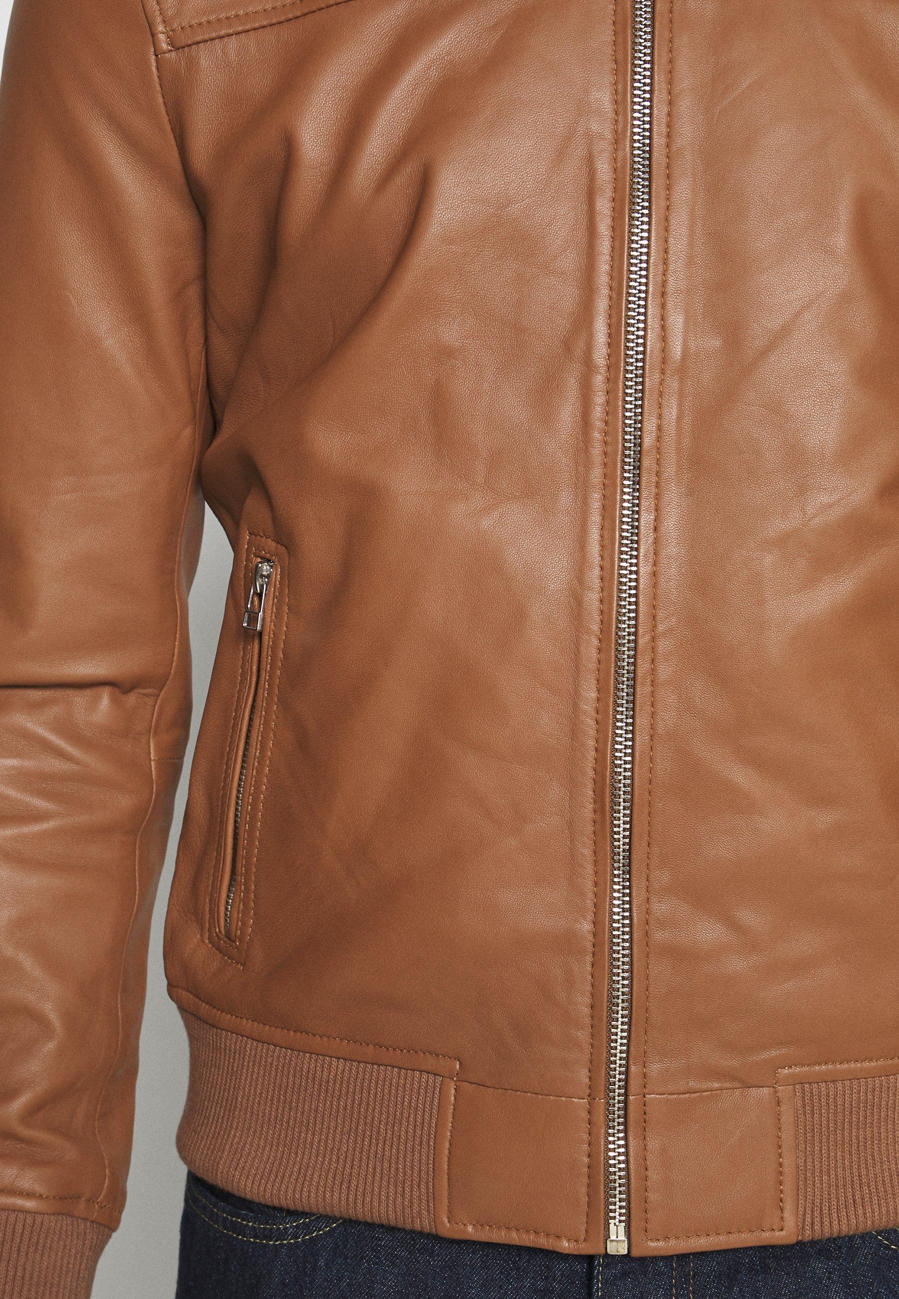 Men BOCHUM - Leather jacket