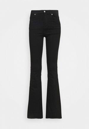 MACY - Flared Jeans - black