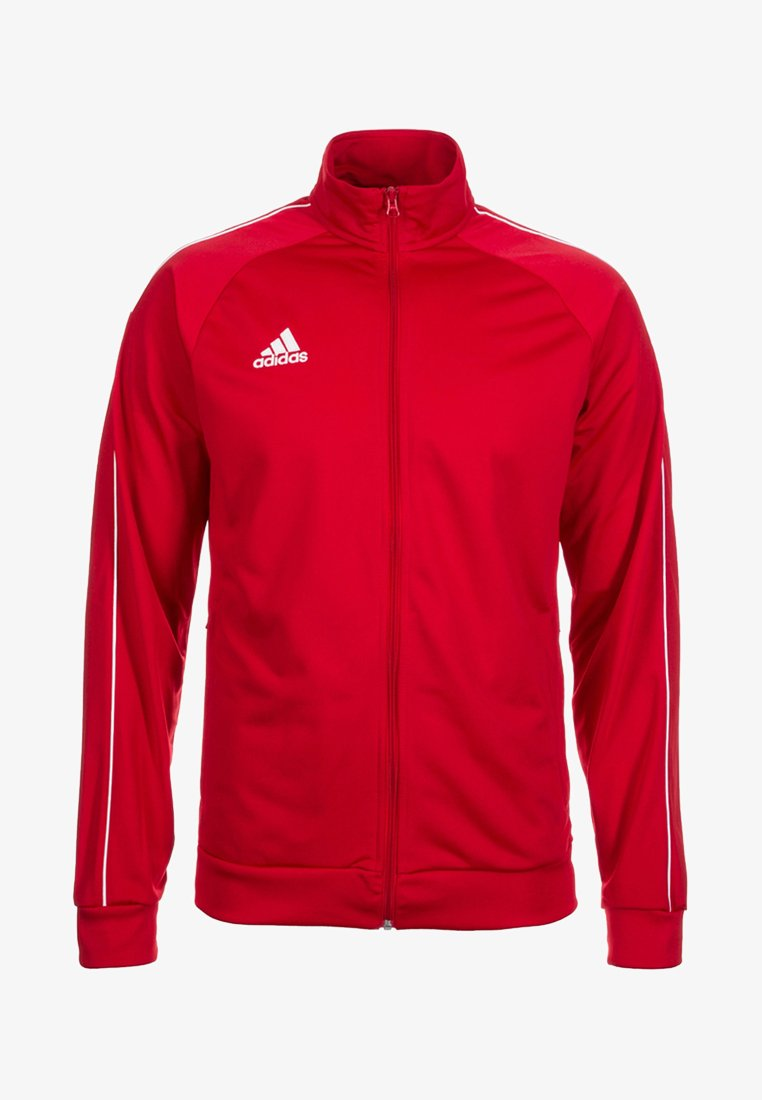 adidas Performance - CORE ELEVEN FOOTBALL TRACKSUIT JACKET - Chaqueta de entrenamiento - red/white