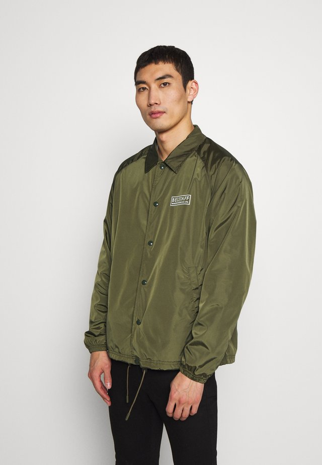TEAMSTER JACKET PRINT - Summer jacket - sage green