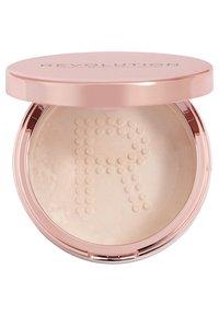 Make up Revolution - CONCEAL & FIX SETTING POWDER - Setting spray & powder - light pink - 1
