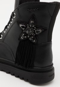 Geox - GILLYJAW GIRL - Lace-up ankle boots - black - 5