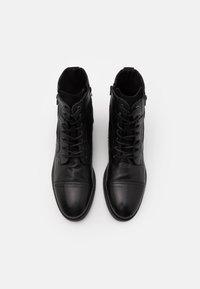 ALDO - BRAVIN - Šněrovací kotníkové boty - black - 3