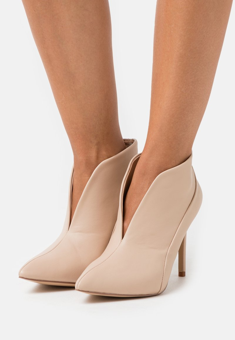 Wallis - PATCH - High heeled ankle boots - neutral
