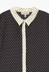 TWINSET - STAMPA STELLE - Košilové šaty - nero/neve - 2