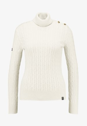 CROYDE CABLE ROLL NECK - Jumper - winter