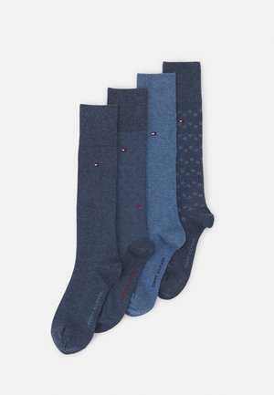 MEN TIN GIFTBOX KNEEHIGH 4 PACK - Knee high socks - jeans