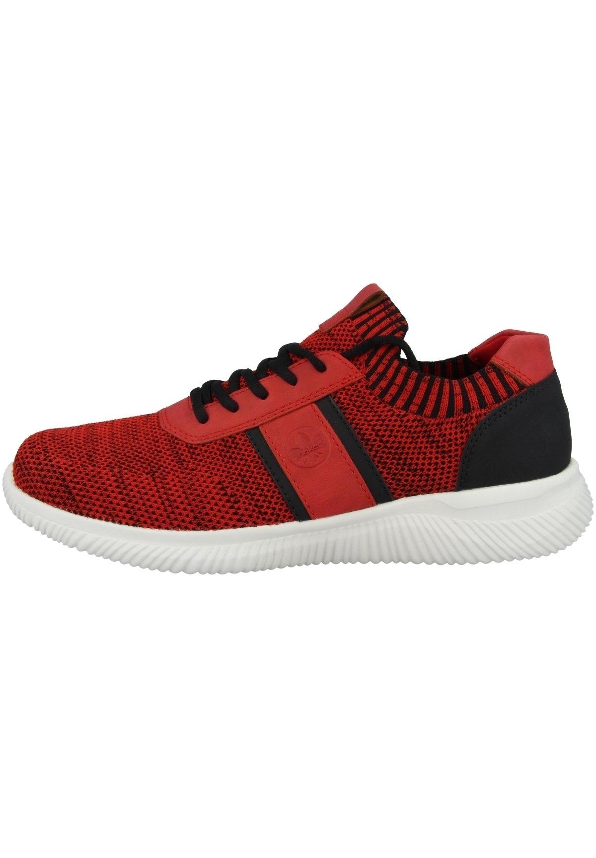 Homme Baskets basses - red black-red-black