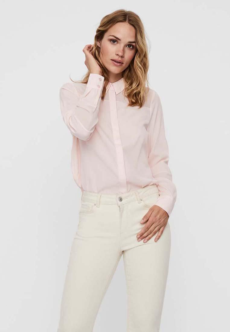 Vero Moda - HAUCHZARTE - Camisa - chintz rose
