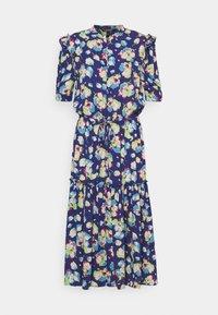 Lauren Ralph Lauren - DRAPEY POLY  - Denní šaty - blue multi - 6