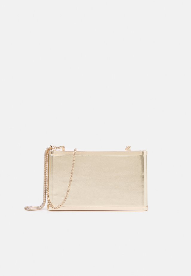 BOX BAG SPRING BAY - Clutch - gold-coloured