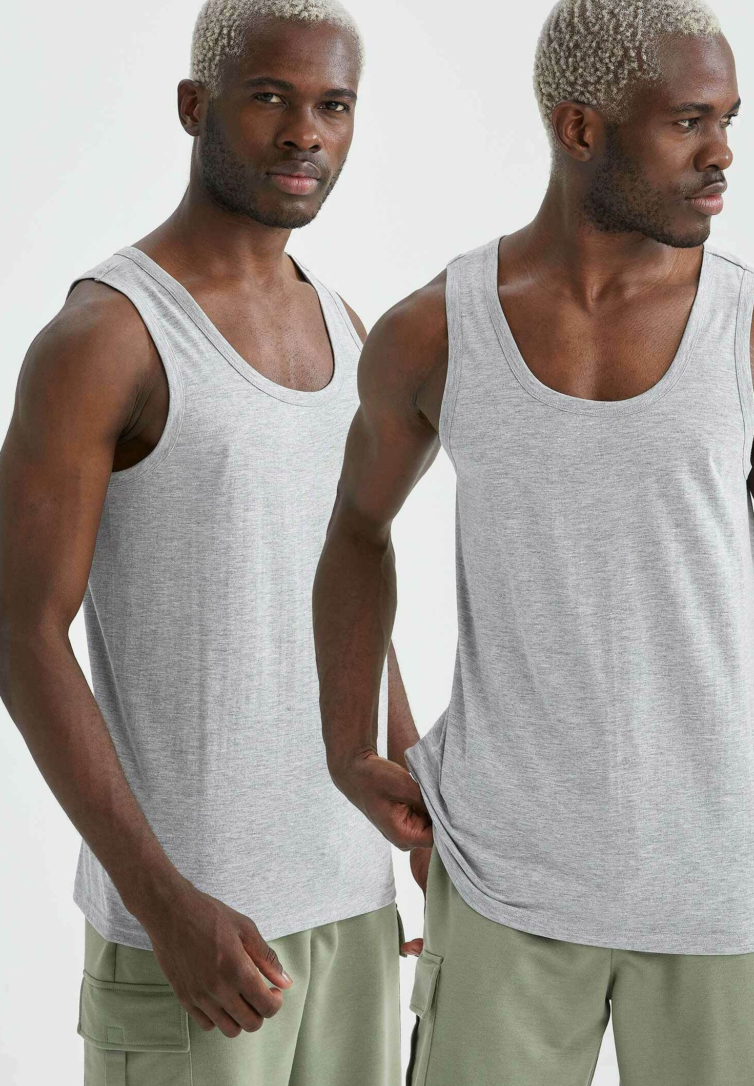Uomo PACK OF 2 - Top