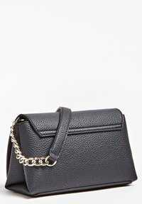 Guess - UPTOWN CHIC MINI XBODY FLAP - Bandolera - black