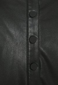 TOM TAILOR DENIM - MINI DRESS - Sukienka letnia - deep black - 2