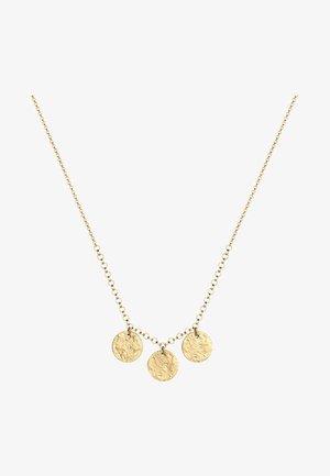 ERBSKETTE KREIS GEO PLÄTTCHEN - Necklace - gold-coloured