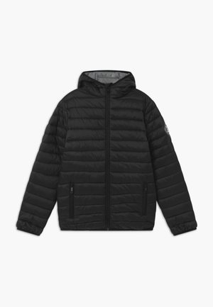 TEENS BIG - Winter jacket - black/grey