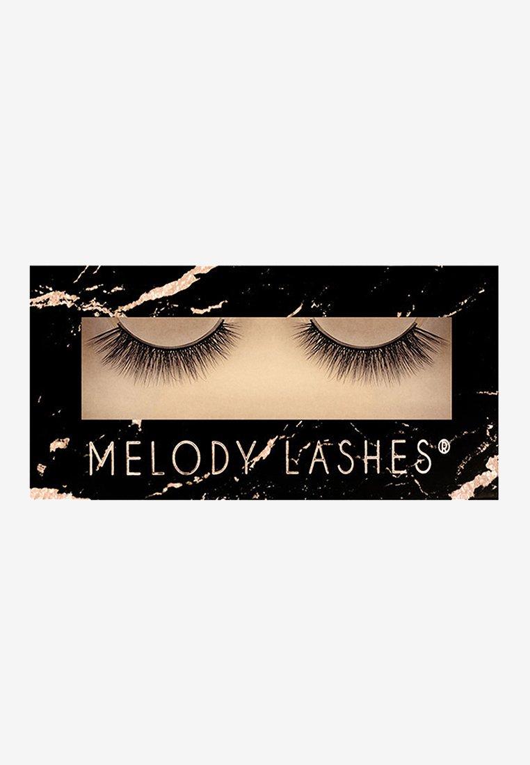 Melody Lashes - ELIN - False eyelashes - black