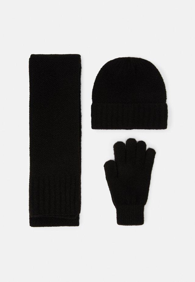 SET - Sjaal - black