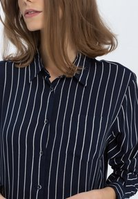 Cross Jeans - Button-down blouse - navy - 3
