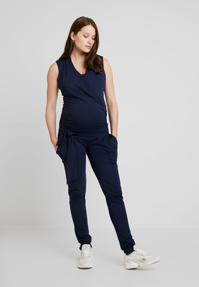 TRISHA TANK NURSING  - Jumpsuit - navy blue