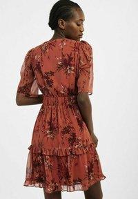 NAF NAF - Sukienka letnia - brown - 2