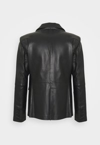 STUDIO ID - VINCENT LEATHER BLAZER - Kožená bunda - black - 8