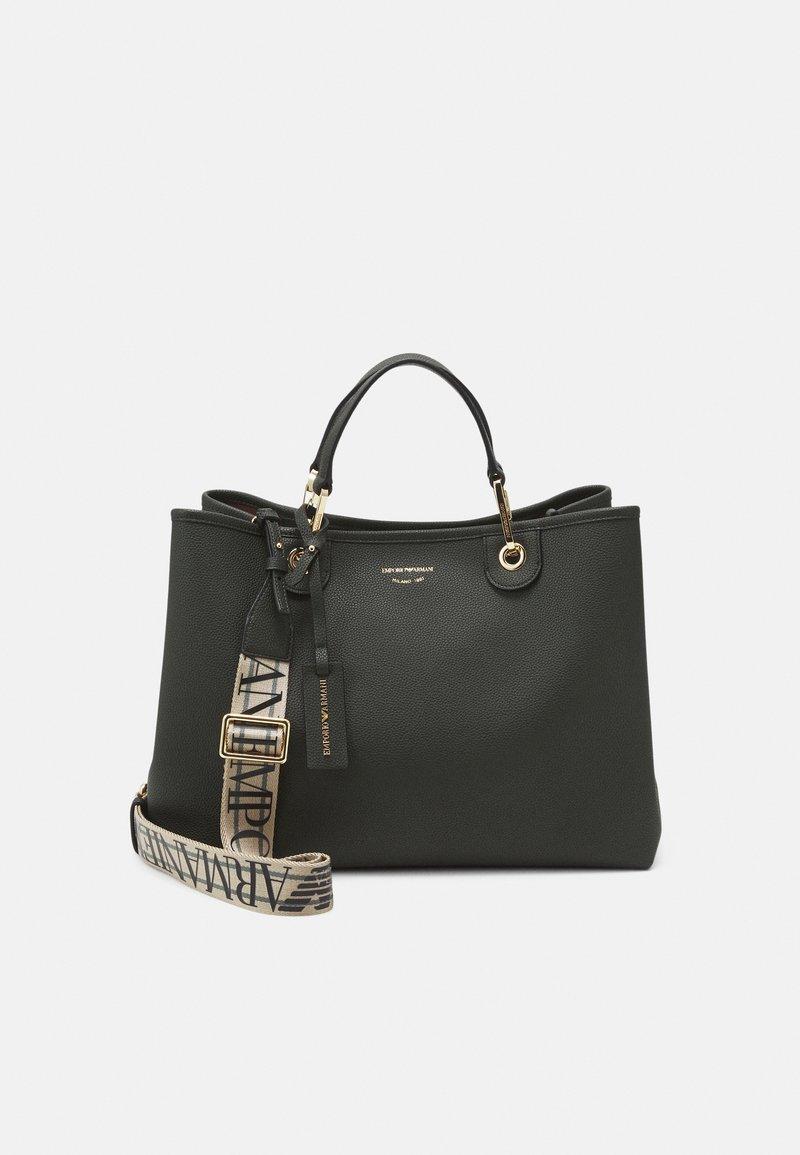 Emporio Armani - SET - Shopping Bag - dark green