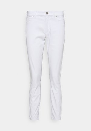 5 POCKET MID WAIST CROP - Pantalon classique - white