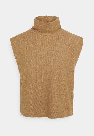 SLFVERA - Stickad tröja - camel