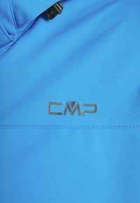 Campagnolo - MAN ZIP HOOD JACKET - Softshellová bunda - regata - 5