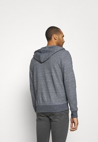 Jack & Jones - JJEBASIC ZIP HOOD - Zip-up hoodie - maritime blue melange - 2