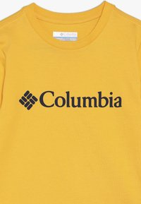 Columbia - BASIC LOGO YOUTH UNISEX - T-Shirt print - stinger/collegiate navy - 3