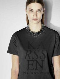 Zoe Karssen - T-shirt con stampa - washed black - 3