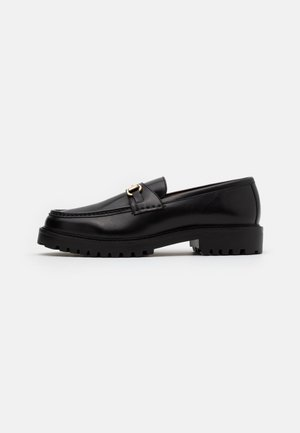 SEAN TRIM LOAFER - Slip-ons - black
