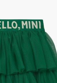 Mini Rodini - A-line skirt - green - 3