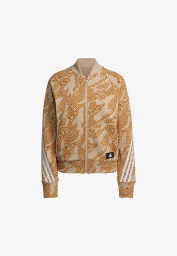 FUTURE ICONS  - Training jacket - orange/white