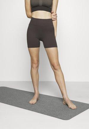SEAMFREE BIKE SHORT - Leggings - peppercorn