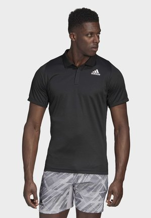 FREELIFT TENNIS POLO SHIRT HEAT.RDY - Poloshirt - black